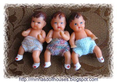 Minna's Miniatures: Ari dollhouse dolls