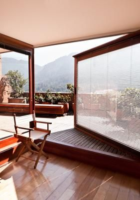 Central Bogota apartment. Amazing. PREFACE 'In the centre of Bogotá stands late Colombian architect Rogelio Salmona's striking Park Towers – a 1970s residential development that blends harmoniously with its mountainous surroundings and serves as a unique public space for all to enjoy.'