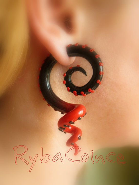 how to make a fake ear piercing