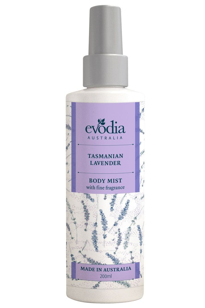 Evodia Tasmanian Lavender Body Mist 200ml - Chempro Online Chemist