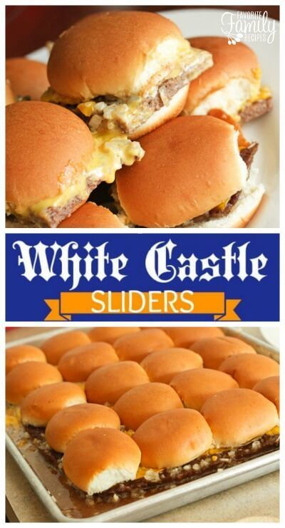No White Castle nearby? No problem! These copycat White Castle sliders taste just like the real deal.  via @favfamilyrecipz