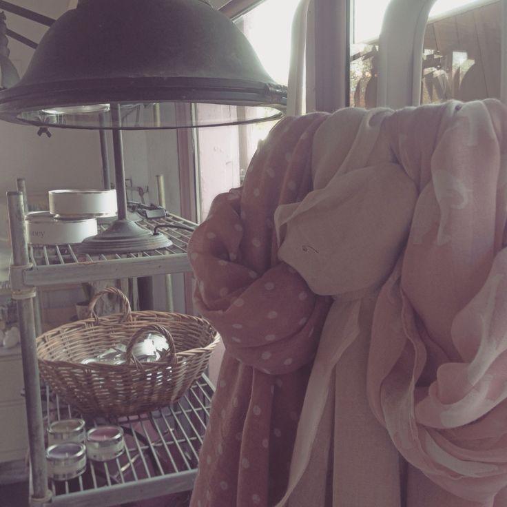 Pretty shop boutique industrial scarves two peas framlingham