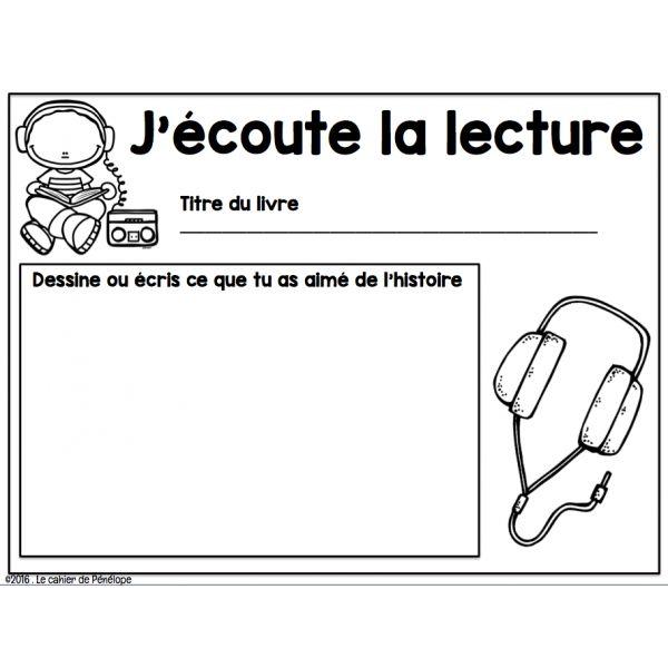 Affiche et fiches: ateliers de litttératie                                                                                                                                                                                 Plus