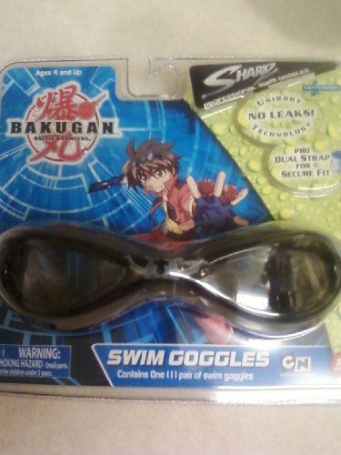 Bakugan Battle Brawlers Swim Goggles for 4 Plus Years