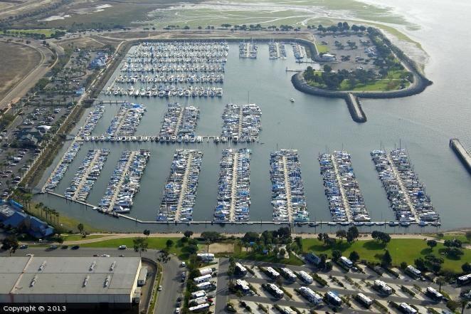 Chula Vista Marina in Chula Vista, California, United States
