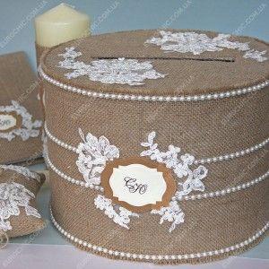 Коробка для конвертов Rustic Wedding Chic