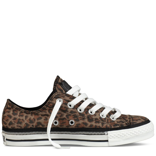 Converse - Chuck Taylor Zipper - Low - Leopard/Black