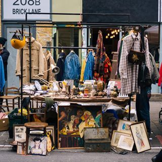 Brick Lane Market | 16 Clothes Markets Every Londoner Must Visit