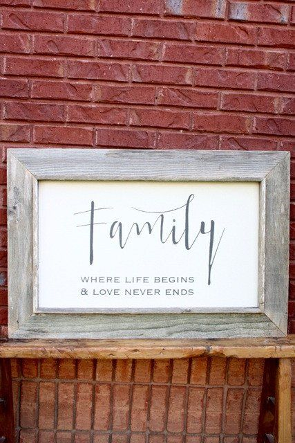Large Canvas Art | Family