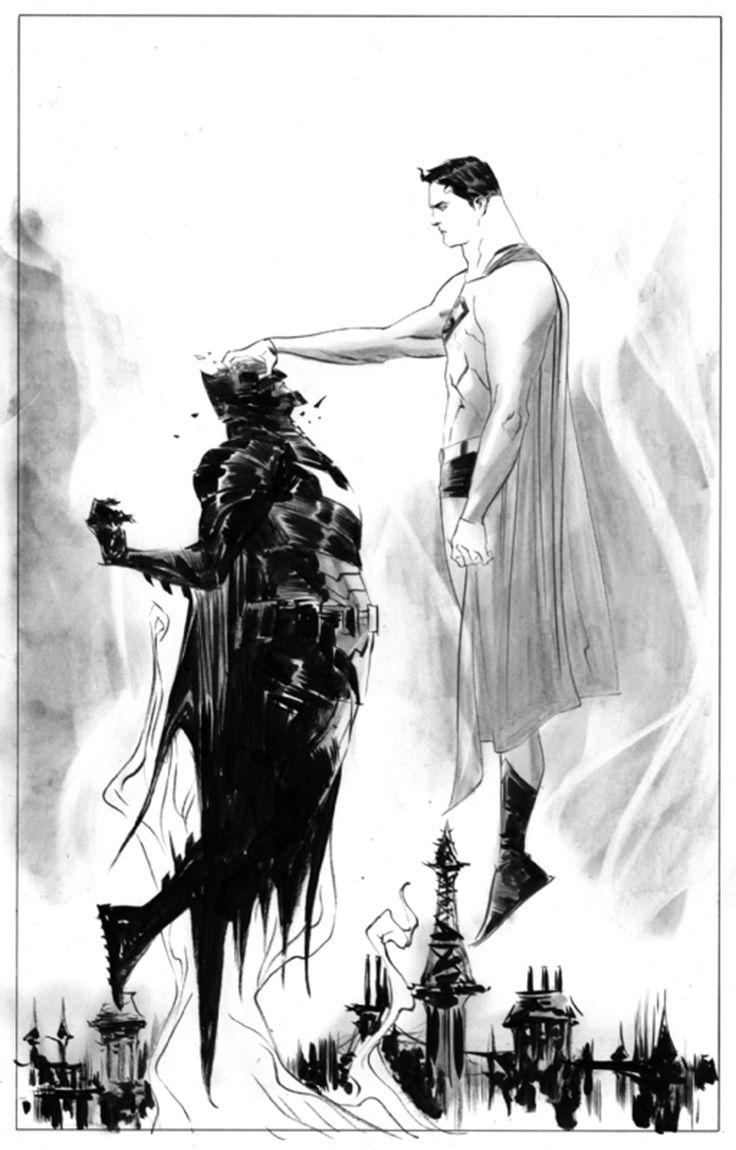 Superman vs. Batman by Jae Lee *
