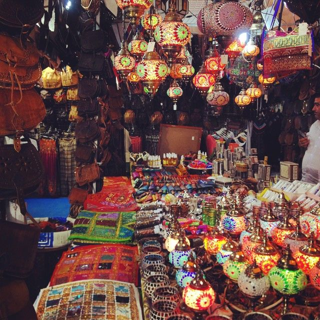 One of the stalls at Feria De Las Naciones, selling lanterns and mosaics. This photo was taken from our Instagram, follow us: http://instagram.com/cui_upo