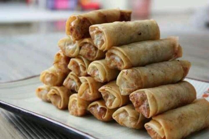 Spring rolls | Food - Spring Rolls | Pinterest