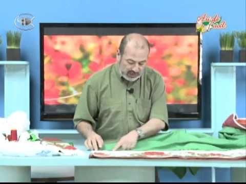 JUEGO BAÑO.- PARTE  1.-       Manualidades Van Gogh - 1º parte juego de baño navideño.avi