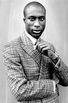 This man knows how to dress a man and carries himself with a high degree of cool. Ozwald Boateng