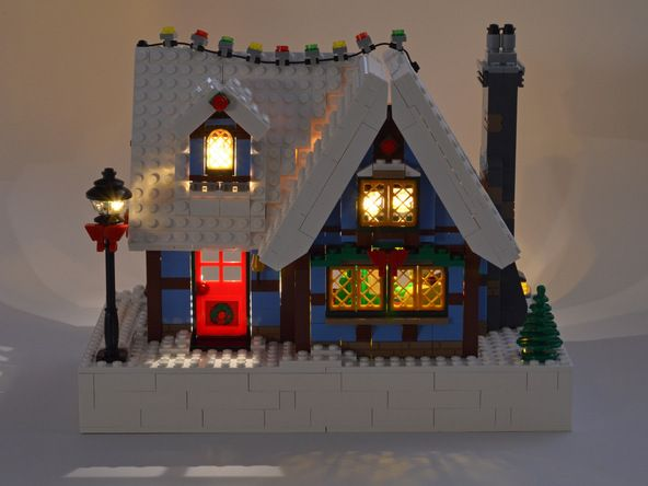 Brickstuff Lego Lighting step by step instructions for lighting this Lego set.