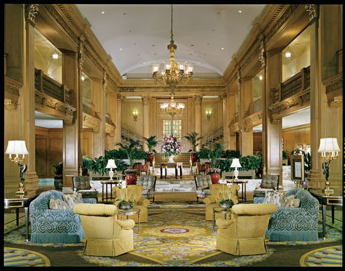 The Fairmont Olympic Hotel Among Premier Luxury Seattle Hotels Boasts