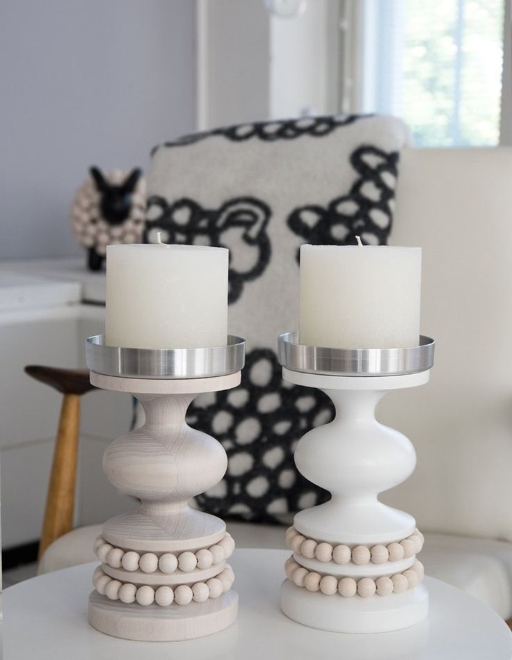 Keisarinna candle holder are a classic! www.aarikka.com