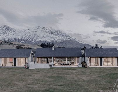 """Check out new work on my @Behance portfolio: """"Lower Shotover House"""" http://be.net/gallery/60046089/Lower-Shotover-House"""