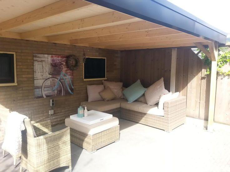 Tuinoverkapping ontwerpen, leveren en bouwen, onderhoudsarm door SP Kunststoffen BV via  Kluswebsite