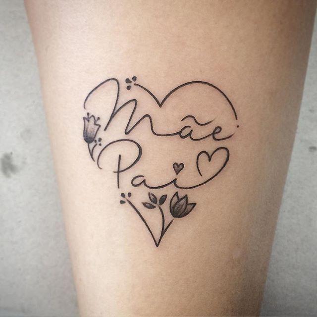 Fotos De Tatuagem De Pai E Filha: 25+ Melhores Ideias De Tatuagens Homenagem Ao Pai No