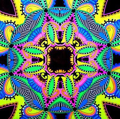 HANDMADE by Ki: (3) kolorowanki dla dorosłych