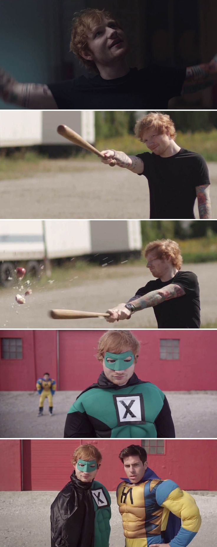 #EdSheeran in #AllAboutIt with #HoodieAllen. Watch the music video here: http://www.creation.com.es/hoodie-allen-all-about-it-ft-ed-sheeran/