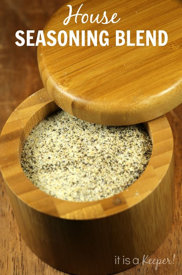 This HOUSE SEASONING BLEND is perfect for anything that calls for salt and pepper.  Don't buy it when you can make it at home.