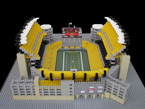 LEGO Steelers Stadiums for Sale | LEGO Stadiums - Heinz Field | Sports Illustrated Kids
