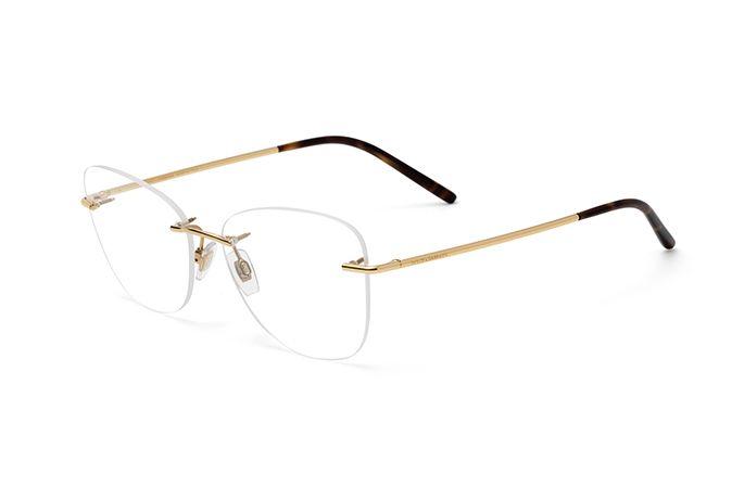 6f094a1310 Gold metal butterfly eyeglasses for women DG1299