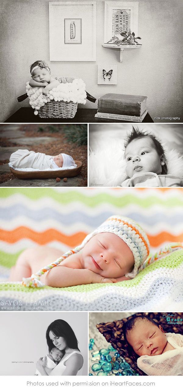 50 More Beautiful Newborn Photos to Inspire You via iHeartFaces.com