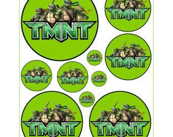 Instant Download tartarughe per pallone adesivi di Inulja su Etsy