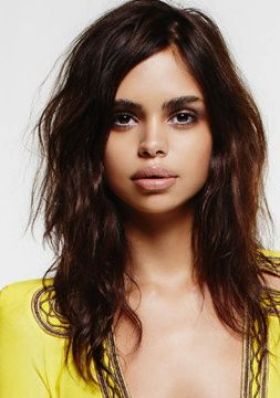 Haircut? Samantha Harris (2nd Australian Aboriginal Model)