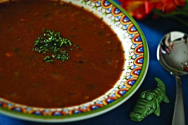 slow cooker mock turtle soup