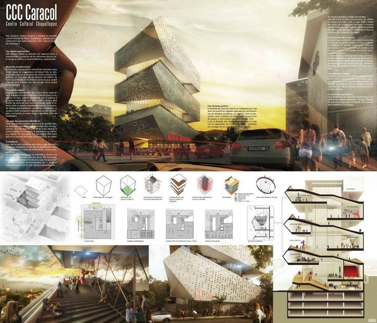 Cultural Center in Guadalajara Competition Entry / PM²G Architects: