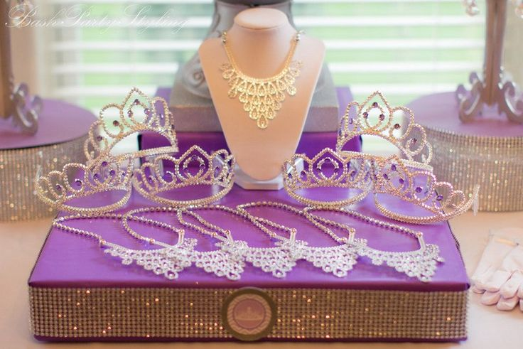 Purple Princess Birthday Party #princess #party #purple