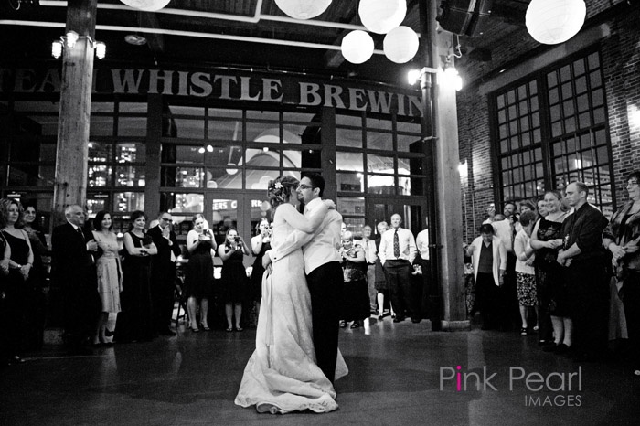 Dancing the night away at Steam Whistle Brewery