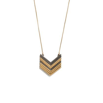 Arrowstack Necklace #madewell