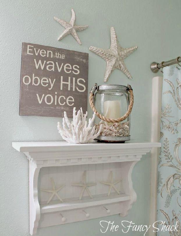 Cute and Adorable Mermaid Bathroom Decor Ideas 32