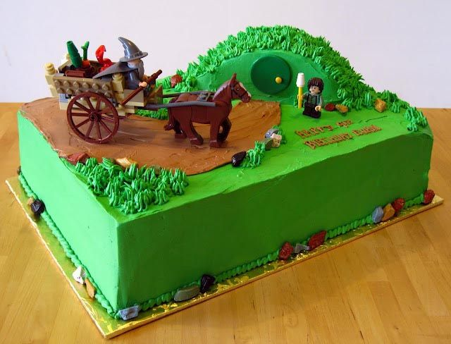 lord of the rings cake ideas   zakka life: One Birthday to Rule Them All