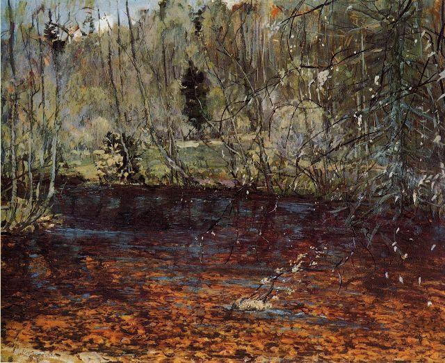 Николай Ромадин. (1903-1987). Золотая речка, 1970г.