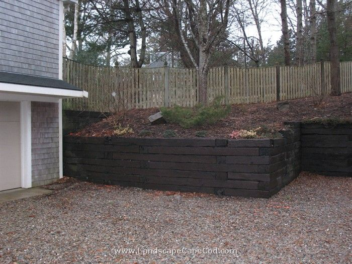 Railroad Ties For Retaining Wall | Tyres2c