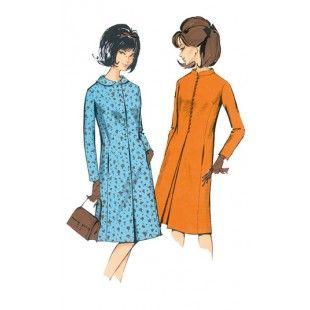 Patroon vintage jas