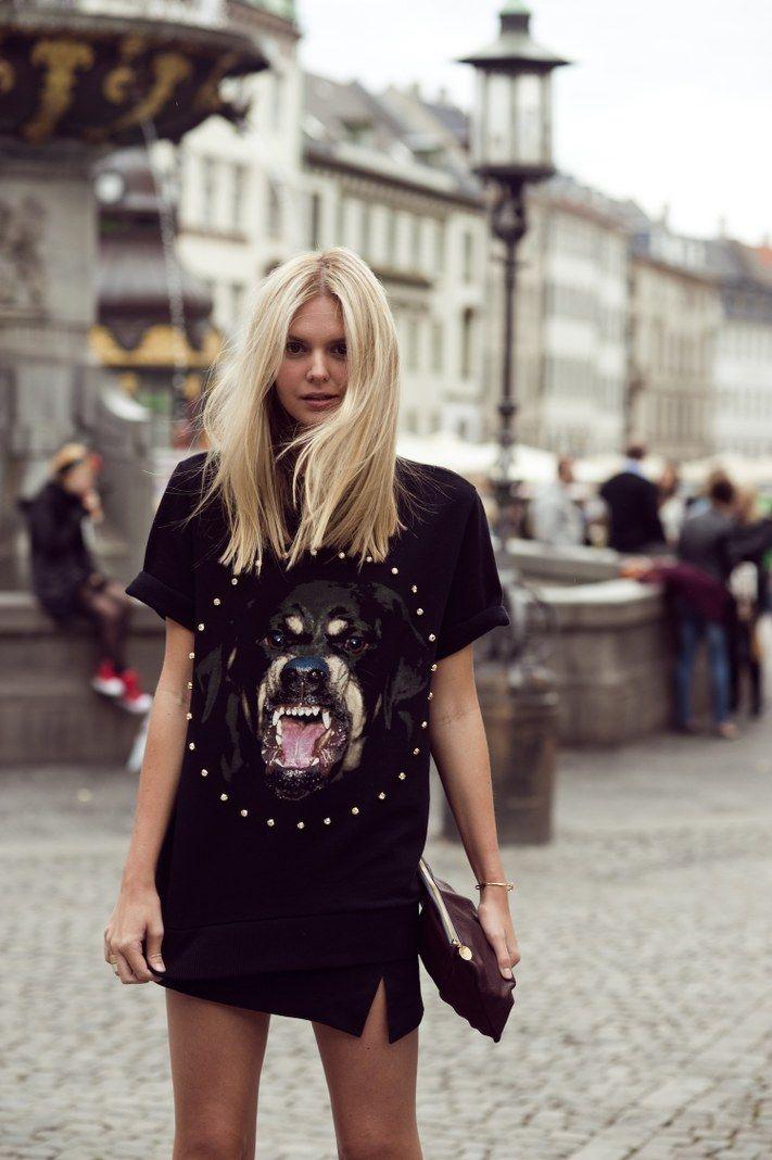 i heart the tshirt, Givenchy Rottweiler Tshirt