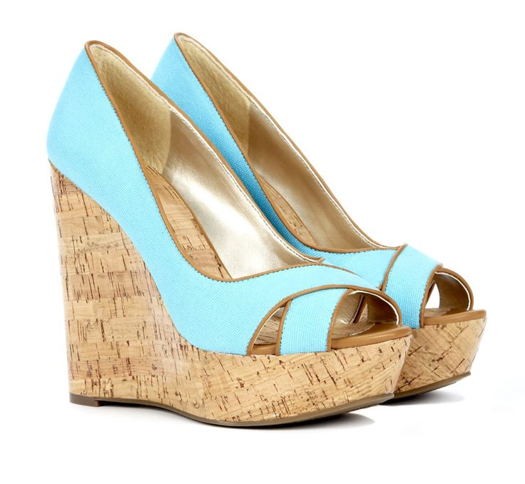 yay for wedges! yay for this color!