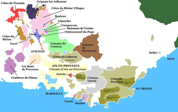 Paca Wine Regions