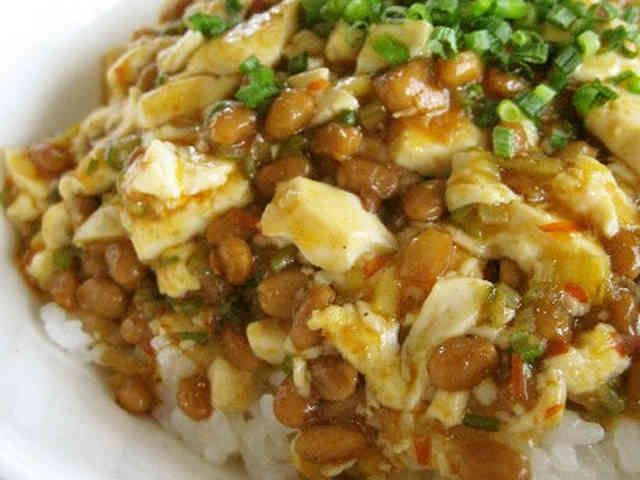 納豆マーボー豆腐の画像