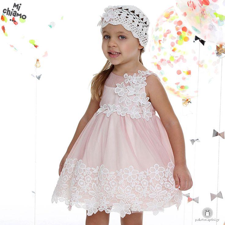 Φόρεμα Βάπτισης από Τούλι και Δαντέλα με Λουλούδια Σάπιο Μήλο Mi Chiamo Κ4021-16659 https://www.paketovaptisi.gr/christening-packages-girl/christening-clothes-girl/sum-spri/product/2320-16659.html Βαπτιστικό φόρεμα από τη νέα collection της εταιρείας Mi Chiamo κατασκευασμένο από τούλι και δαντέλα με λουλούδια στο χρώμα του σάπιου μήλου. Το σύνολο συνοδεύεται από καπέλο ή κορδέλα ή στέκα το οποίο συμπεριλαμβάνεται στην τιμή. Συνδυάζεται προαιρετικά με ασορτί ζακετάκι. #MiChiamo #φορεμα…