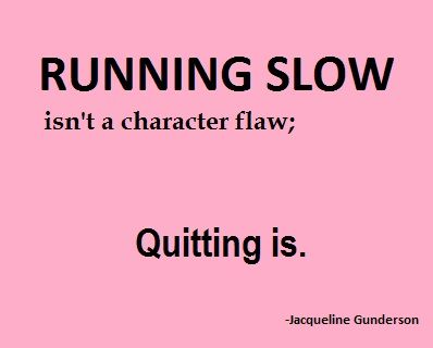 Good thing...since I am the slowest in the universe!