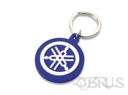 Yamaha Tuning Fork Keyring Embossed 'soft-feel' keyring featuring our distinctive tuning fork logo. Available in red or blue colour options £3.21 inc vat. All available to order from QBRUS 01621 893227