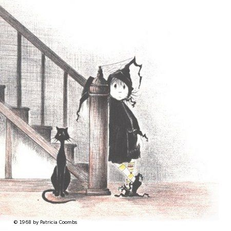 Dorrie the Little Witch (and Gink her cat). I loved Dorrie when I was little.